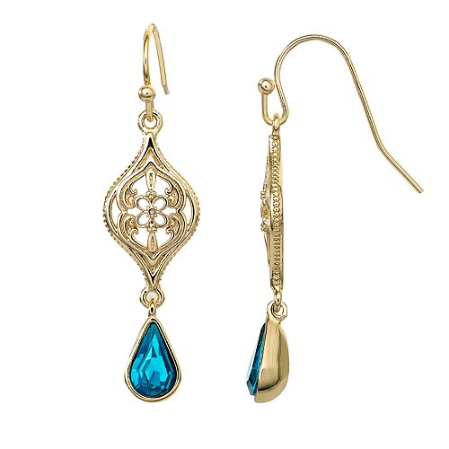 Disney's Aladdin Crystal Drop Earrings