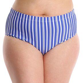 Plus Size LYSA Tummy Slimmer Midrise Bikini Bottoms