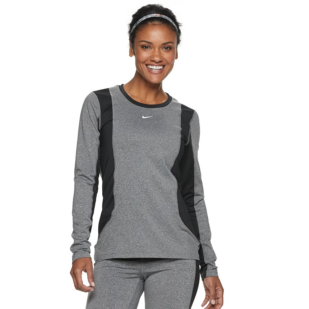 Women's Nike Dri-FIT Long-Sleeve Training Top