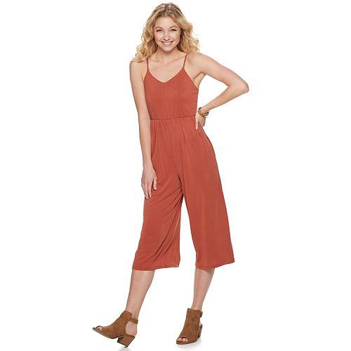 Juniors' Mudd® Culotte Jumpsuit