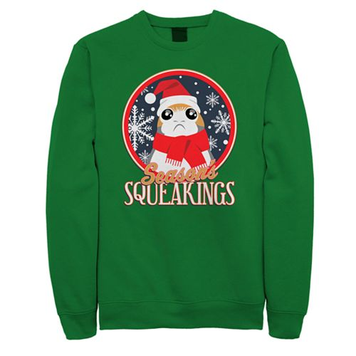 Men's Star Wars Porg Squeakings Sweatshirt