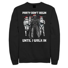 Men's Star Wars Party Don't Begin Sweatshirt