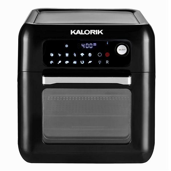 Kalorik 10-qt. Air Fryer Oven with Rotisserie - Black