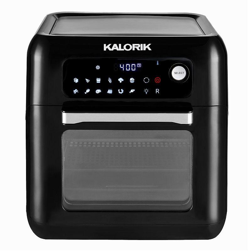 Kalorik 10-qt. Air Fryer Oven with Rotisserie, Black