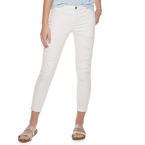 Juniors' Jolt Low Rise Skinny Jeans