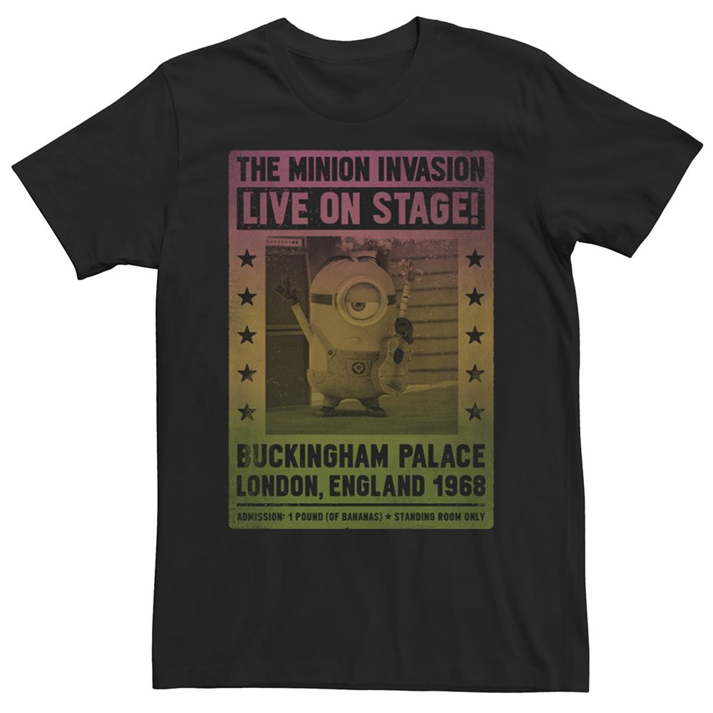 Men's Minions Live On Stage Tee