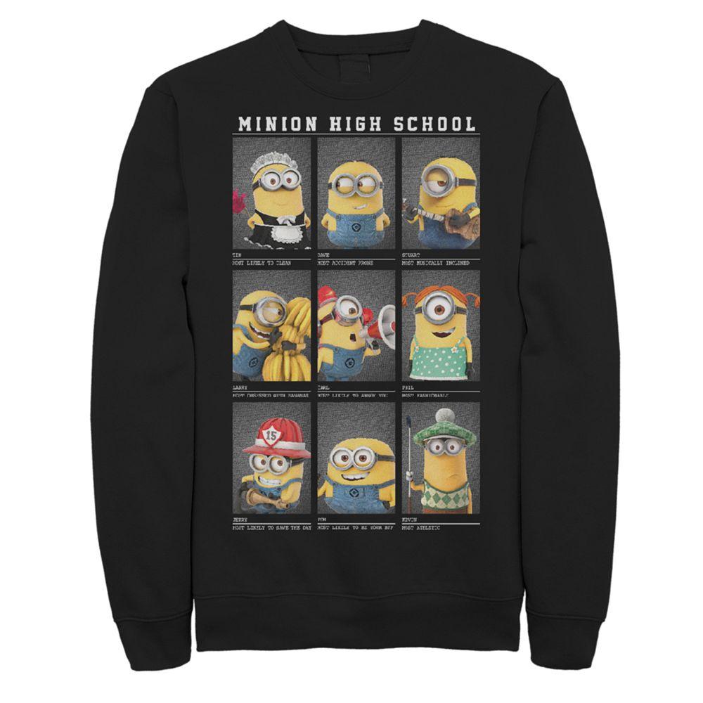 Men's Minion High School Yearbook Sweatshirt