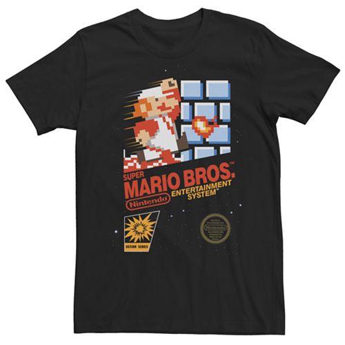 Men's Super Mario Bros Vintage Tee