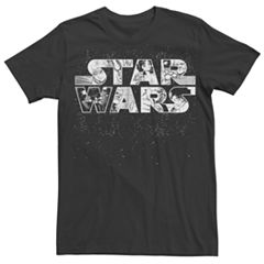 Men's Star Wars Anime Logo Tee
