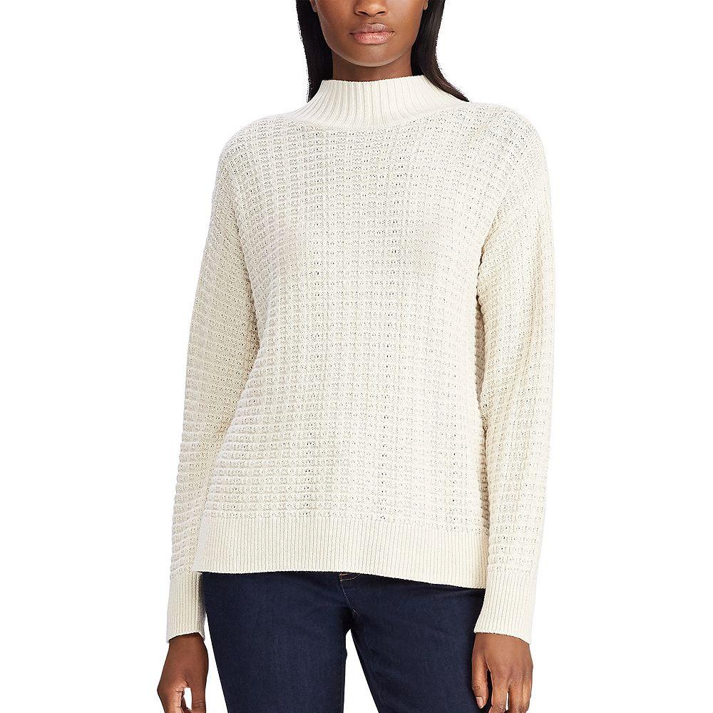 Women's Chaps Mockneck Sweater