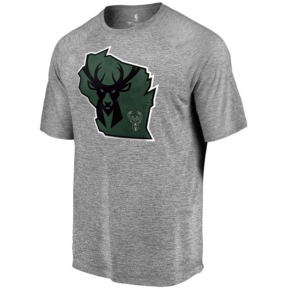 Men's Fanatics Milwaukee Bucks Team State Tee