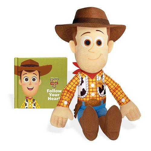 Kohl S Cares Disney Pixar S Toys Story 4 Woody Plush And Book