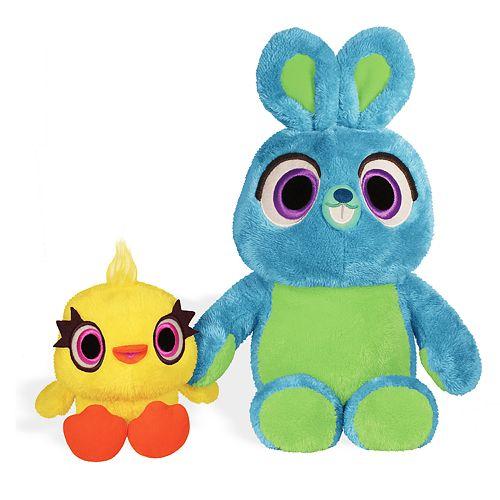 Kohl's Cares Disney / Pixar Toy Story 4 Bunny & Ducky Plush Bundle