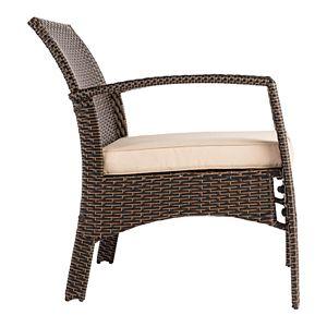 Patio Sense Bondi Wicker Outdoor Armchair