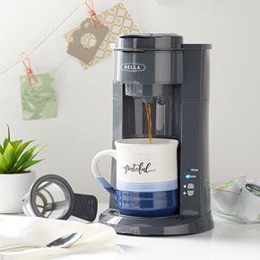 Bella Dual Brew Single-Serve Coffee Maker