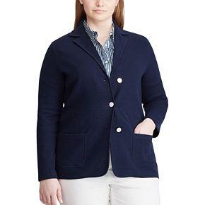 Plus Size Chaps Clarissa Long Sleeve Jacket