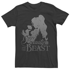Men's Beauty And The Beast Silhouette Tee