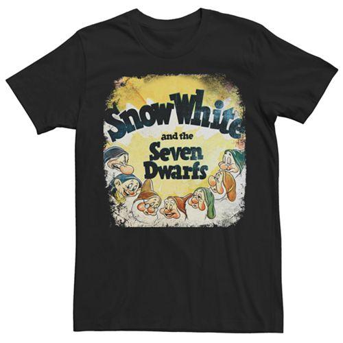 Men's Disney Vintage Snow White Tee