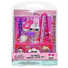 L.O.L. Surprise! 10-Piece Pencil Case Set