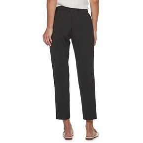 Women's ELLE? Pull-On Mid-Rise Ankle Pants