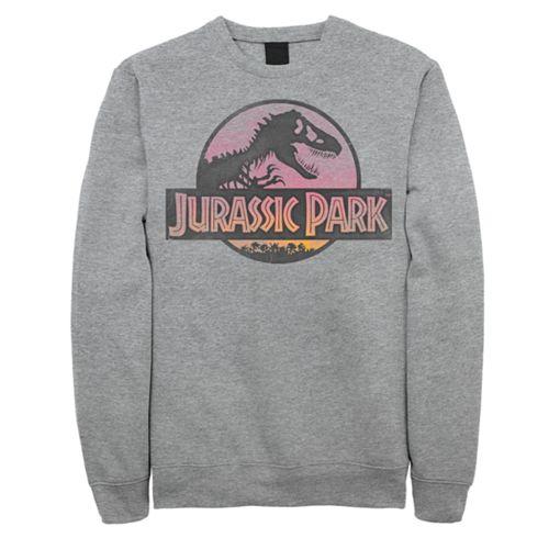 Men's Jurassic Park Logo Pullover