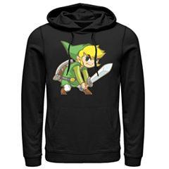 Men's Nintendo Big Link Hoodie
