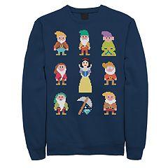 Men's Seven Dwarfs Pixel Pullover
