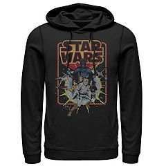 Men's Star Wars Retro Comic Hoodie