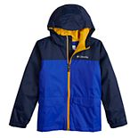 Boys 8-20 Columbia Rain-zilla Fleece-lined Rain Jacket