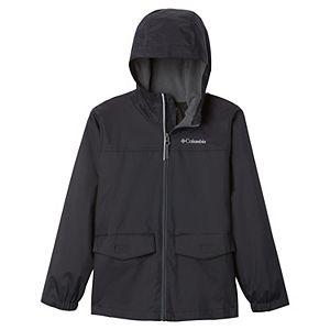 Boys 8-20 Columbia Rain-zilla Fleece-lined Rain Jacket