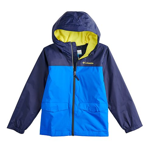 d9167bcd Boys 8-20 Columbia Rain-zilla Fleece-lined Rain Jacket