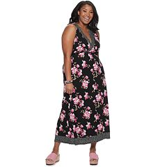 Juniors' American Rag Framed Maxi Dress