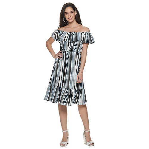 Women's ELLE™ Easy Off The Shoulder Dress