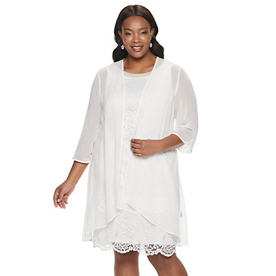 Women's Le Bos Duster Lace Jacket Dress