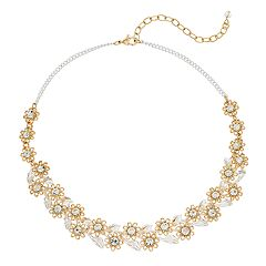 Napier 16' Gold Daisy Frontal Necklace