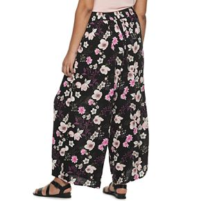 Juniors' Plus American Rag Front Tie Pants