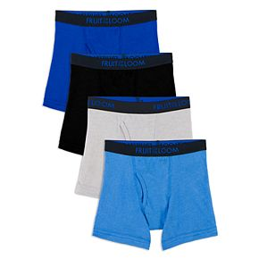 Boys Fruit of the Loom 4-Pack Toddler Boxer Brief