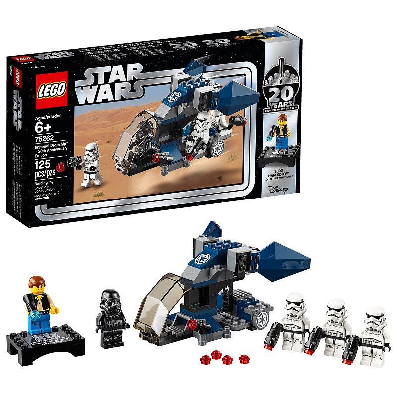 LEGO Star Wars Imperial Dropship 20th Anniversary Edition Building Kit Now $11.99 (Was $20)