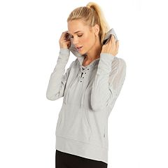 Women's Marika Riley Lace-Up Hoodie