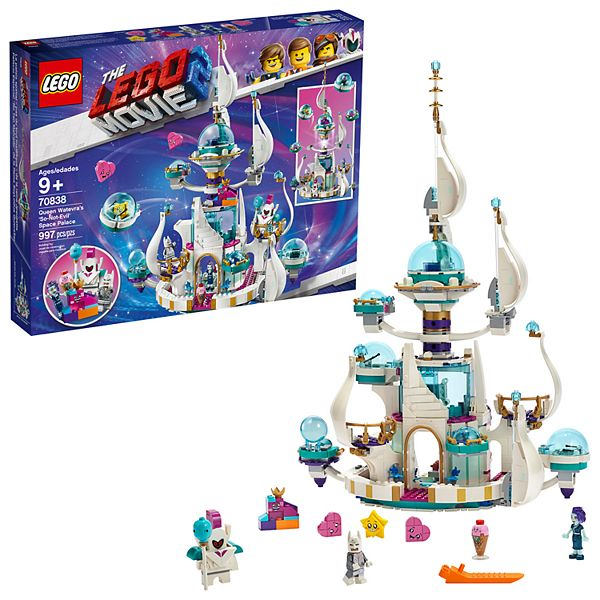 Lego Movie 2 Queen Watevra S So Not Evil Space Palace 70838