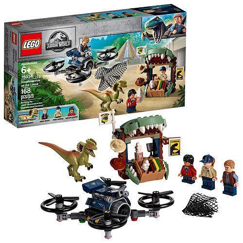 LEGO Jurassic World Dilophosaurus on the Loose Set 75934