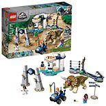 LEGO Jurassic World Triceratops Rampage Set 75937