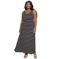 3531544bba112e Juniors SO® Plus Scoop Neck Tank Maxi Dress