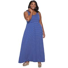 765e5915c08 Racerback Knit Dress. Juniors SO® Plus Scoop Neck Tank Maxi Dress