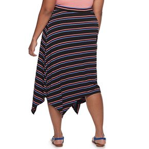 Juniors' SO® Panelled Midi Skirt