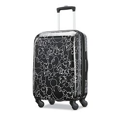 American Tourister Mickey Mouse Scribble Spinner Luggage