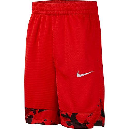 Boys 8-20 Nike Camo-Hem Shorts