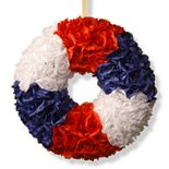 National Tree Company 18-in. Patriotic Artificial Rose Wreath