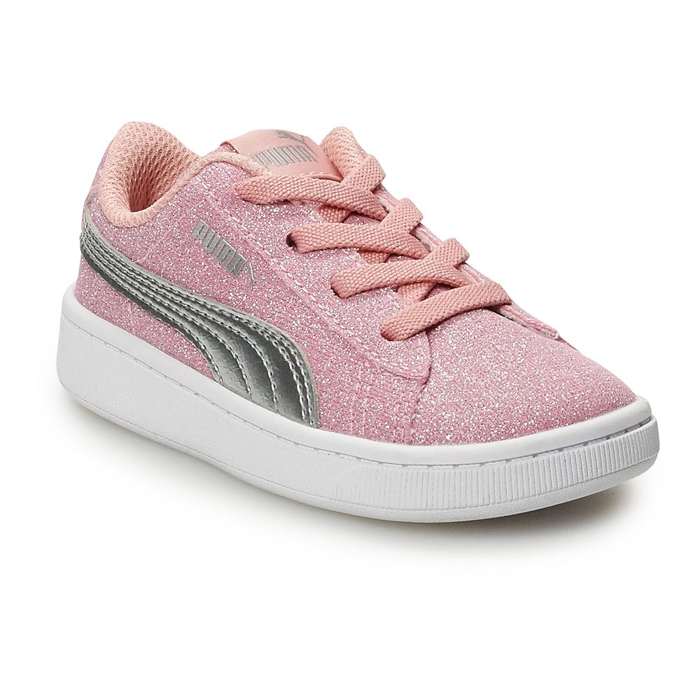 PUMA Vista Glitz Toddler Girls' Sneakers