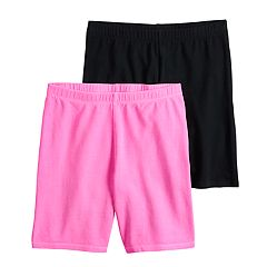 Girls 7-16 SO® 2-pack Bike Shorts